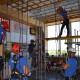 Учебный полигон для работ на высоте