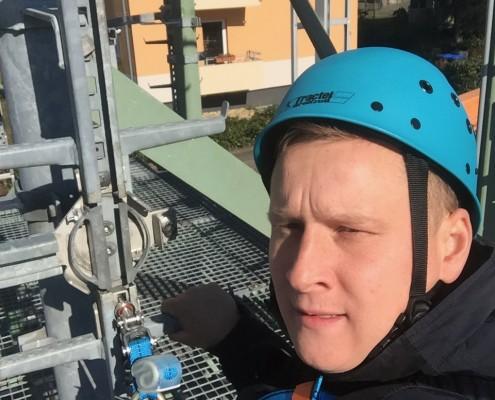 Оказание услуг по промышленному альпинизму